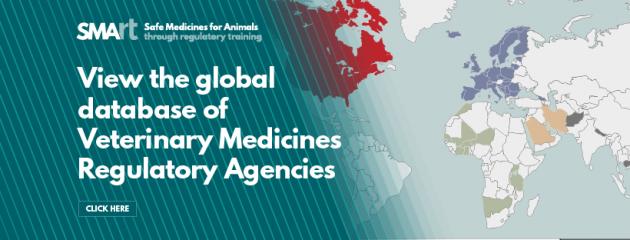 View the global database of Veterinary Medicines Regulatory Agencies